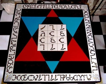 Enochian Holy Table of Practice.