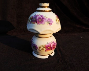 Hand Decorated Ceramic Night Light