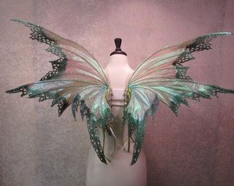 Made to Order - Iridescent Absinthe Adult Fairy Wings