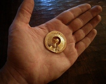 "Indiana Jones - Challenge Coin ""Staff of Ra Headpiece"""