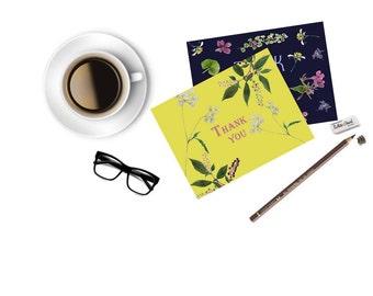 Botanical Note Cards (2)