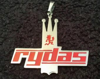 Psychopathic Rydas Red Crown Logo Charm/Pendant ICP Twiztid