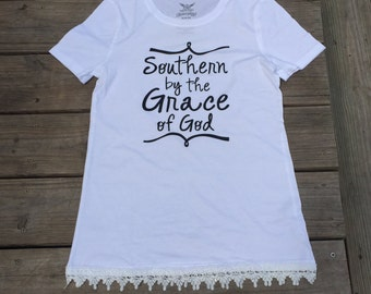 Southern by the grace of God shirt