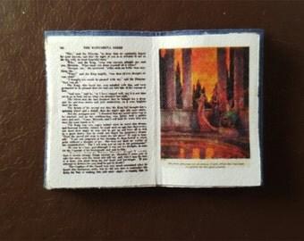 Miniature Book:  The Blue Fairy Book