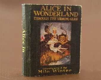 Miniature Book:  Alice in Wonderland