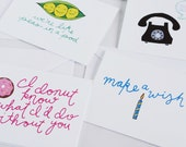 Two Greeting Cards of Your Choice