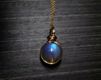 Labradorite charm-Labradorite necklace-Labradorite Pendant-wire wrapped labradorite-Natural labradorite pendent jewelry