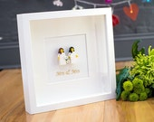 Mrs & Mrs Lego wedding picture