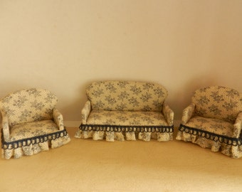 1/24th  SOFA AND ARMCHAIRS