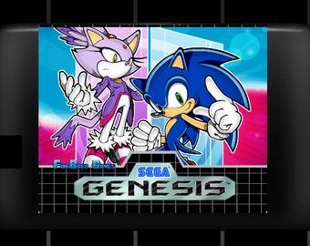 "SPECIAL ORDER! ""Sonic & Blaze: Mobius Evolution"" Great Sonic Hack Sega Genesis!"