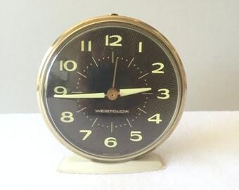 Vintage Westclox America II Alarm Clock
