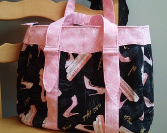 Made-to-Order Evelyn Market Tote
