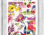 Wallpaper Stickers - Lush - planner stickers - #freestyleplanning