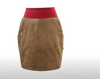 Pencil skirt cord