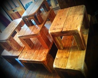 Bespoke Coffee Tables - Handmade - Rustic Reclaimed Wood - Made by Chunky Tables