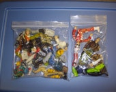 Lot of 2 bags of GI Joe pieces  ... figures who were lost in battle