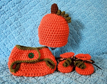 Pumpkin Hat Set
