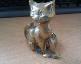 vintage cat candle holder