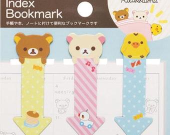 San-x Rilakkuma Magnet Index Bookmark - BK24501