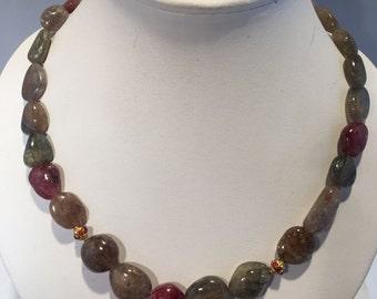 Zenana Raw Sapphire Necklace