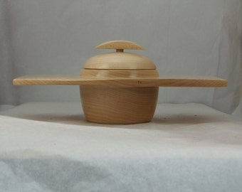 Maple Lidded Wing Bowl