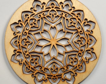 Intricate Ornament~Wood~Personalized FREE