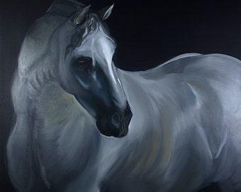 Dark Horse //Fine Art Print // Farmhouse Decor