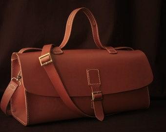 Cognac Satchel bag