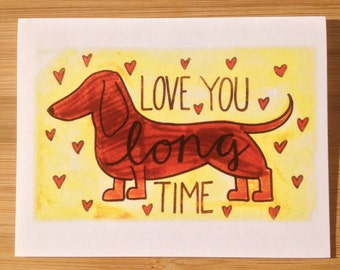 Love Card- Love You Long Time