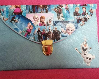 Frozen Disney Theme Clutch Bag