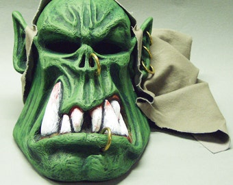 GREEN OGRE MASK