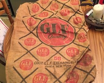 GLF mill feed sack