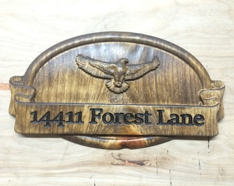 Customized Address or Name Placque