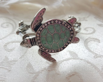 Turtle Wire Wrapped Bangle