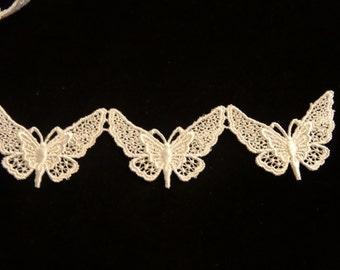 Lace Butterflies -Sold by the Yard