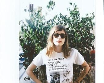 Eno Shirt - Cry Tuff Shirt - White - Brian Eno - Screen printed Shirt