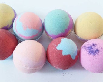 5 Bath Bombs You Choose The Scent, Bath Bomb, Lush like, Skin Softner, Bath Fizzies, Natural Bath Bombs, Best Bath Bomb, Most Bought Bomb