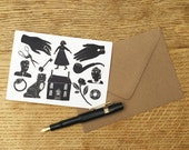 Greetings Card, 'Story'