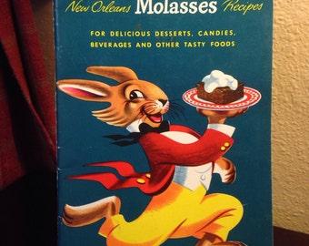Vintage Brer Rabbit's New Orleans Molasses Recipes Cook Book