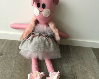 TAILA DANAE DESIGNS 100% Hand Made Bunny Large