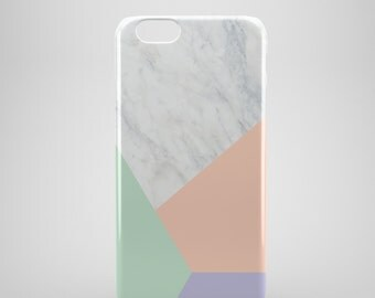 Geometric Marble iPhone 6 Case, marble iPhone SE case, iPhone 5C Case, iPhone 6 plus case, iPhone 5 case, iPhone 5s case, iPhone 6s case