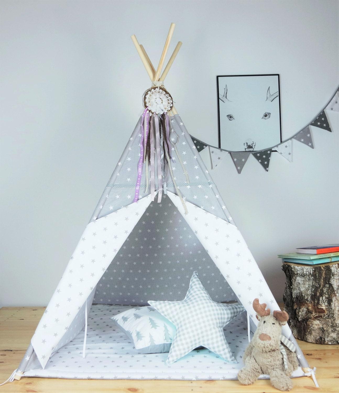 tipi pour enfants playtent tipi zelt wigwam tipis par minukids. Black Bedroom Furniture Sets. Home Design Ideas