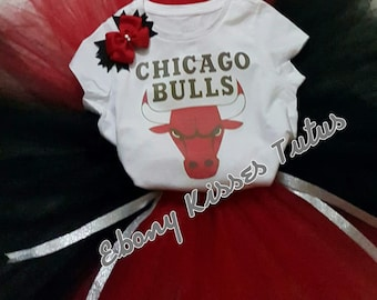 Chicago Bulls Tutu Set