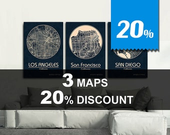 Special Offer! 3 MAPS - 20% DISCOUNT! Great deal!