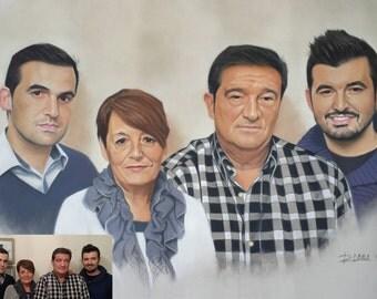 cake family portrait