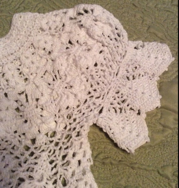 Heirloom Crochet Baby Dress Pattern ~ Dancox for .