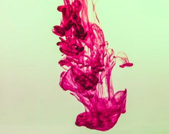 Underwater Ink Photography, Abstract Photography, Original Photography