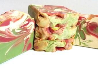 Margarita Soap, Cold Process Soap, Vegan Soap, Artisan Soap, Babassu Oil, Shea Butter, Handmade Soap, Luxury Soap, Bar Soap, Cocoa Butter