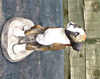 Boxer Dog Sculpture / Figurine