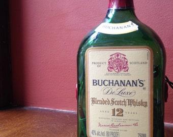 Buchanan's Scotch Whiskey Light Bottle